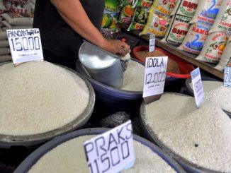 stabilisasi harga beras bulog